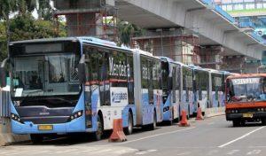 Daftar Lengkap Pengalihan Rute Transjakarta Hari Ini