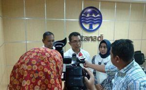 Jalan di Medan Amblas, PDAM Tirtanadi Segera Perbaiki Pipa Limbah yang Ikut Pecah