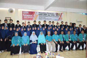 OSIS SMP dan SMA YPSA Dilantik Hasil E-voting Pertama di Indonesia
