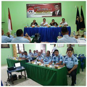 Kakanwil Kemenkumham Sumut Sampaikan 8 Poin Penting saat Rapat dengan Para Kepala Satuan dari Siborongborong