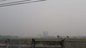 Akibat Kabut Asap Karhutla, BMKG : Udara di Medan Tidak Sehat