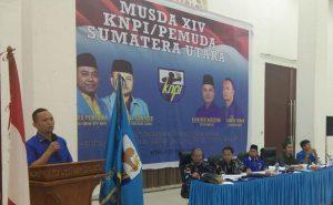 Sah… Samsir Pohan Ketua KNPI Sumut 2019 – 2022