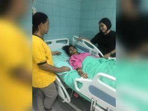 Korban Kecelakaan Alami Pembekuan Darah dan Patah Tulang Dibantu Seorang Dermawan