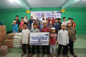 Bank Sumut Rayakan HUT ke-58 Bersama Anak Yatim dan Piatu di Panti Asuhan