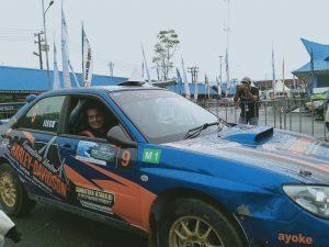 Muda dan Berbakat, Wagub Sumut Raih Juara 3 Kejurnas Rally Indonesia 2019 Seri Ketiga