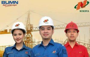 Lowongan Untuk Tamatan Minimal SMK dan D3 di Perusahaan BUMN PT Nindya Karya