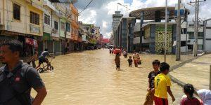 Banjir Landa Kota Tebing Tinggi, Sebagian Warga Mengungsi dan Pelajar Diliburkan