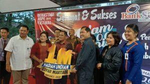 Nasabah Asal Karo Menangkan Rp1 Miliar dari Bank Sumut