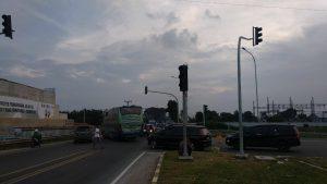 Jelang Tahun Baru, 6 Traffic Light di Persimpangan Gerbang Tol Tebingtinggi Padam