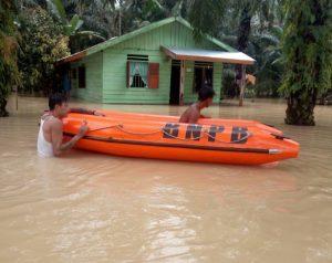 13 Desa Terendam Banjir, Pemkab Asahan Lakukan Penanganan Awal