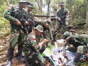 Jadi Pemicu Kondisi Tidak Aman, Kok Pun Akhirnya Ditemukan TNI Walau Sudah Tersembunyi di Tumpukan Daun