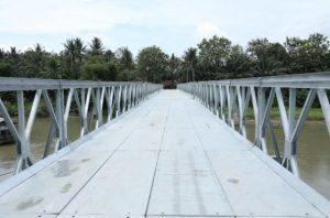 Jembatan Bally Senilai Rp7,5 Miliar, Materialnya Dicuri OTK
