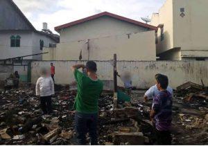Balon Wali Kota Dicecar Warganet Karena Narsis di Lokasi Kebakaran