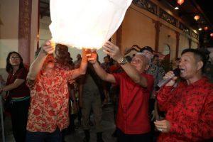 Berbagai Atraksi Meriahkan Malam Cap Go Meh di Kota Kisaran