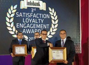 Bank Sumut Raih Penghargaan Infobank SLE Award 2020