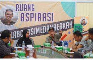 Diskusi Soal Korupsi di Medan, Budayawan : Ikan Busuk Duluan Kepalanya