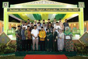 Juara Festival Nasyid Kabupaten Asahan Tahun 2020