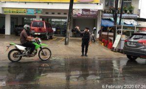 Ditsamapta Polda Banten Antisipasi Laka Lantas