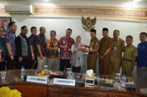 Soal Hibah Online, DPRD Palembang Kunjungi Pemkot Serang