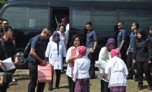 Iriana Jokowi : 1.000 Jamban Untuk Kebersihan dan Kesehatan Masyarakat