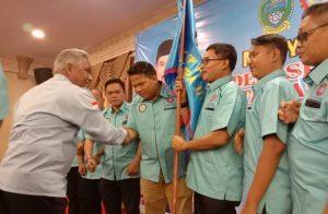 Santoso Ketua dan Miftah Sekretaris Dalam Pengurus FSPPP-KSPSI Sumut Periode 2020-2025