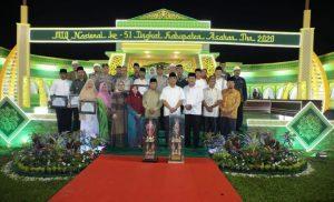 MTQ Ke-51 Tingkat Asahan Lancar, Para Pemenang Utama Raih ONH