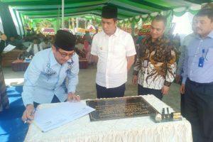 Bank Sumut Salurkan Rp942 Juta Untuk Bangun Masjid Balai Kota Pematangsiantar