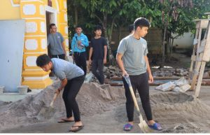 Homestay XV YPSA, Siswa Diajarkan Kesederhanaan, Membersihkan Masjid hingga Berladang