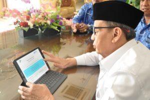 Gubernur Banten Ajak Masyarakat Sukseskan Sensus Penduduk Online 2020