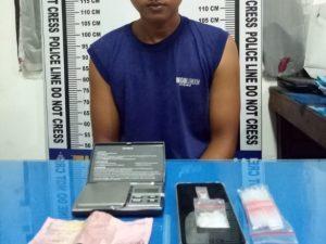 Pengedar Sabu Eceran Ditangkap saat Sedang Proses Penimbangan
