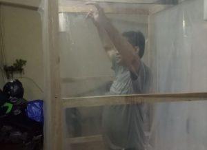 Kreatif, ICMI Banten Ciptakan Bilik Disinfektan dengan Biaya Rp500 Ribu