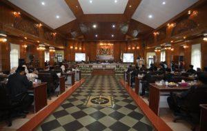 Saat Rapat Paripurna, Bupati Surya Ajak Seluruh Pihak Majukan Kabupaten Asahan