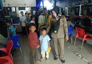 Antisipasi Penyebaran Corona, Satpol PP Asahan Amankan 87 Anak yang Berkumpul