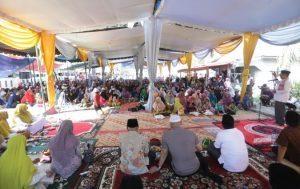 Bupati Asahan Letakkan Batu Pertama Perluasan Masjid Subulussalam
