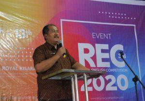 Sekdakab Asahan Ajak Pelajar Gemar Berbahasa Inggris saat Event 3RD REC 2020