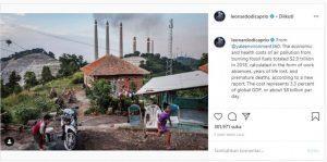 Ombudsman Sikapi Kritik Leonardo DiCaprio Soal Polusi Udara di Cilegon