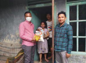 Badko HMI Sumut Salurkan 2 Ton Sembako dan 1.000 Masker untuk Masyarakat Kurang Mampu