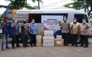 Bank Sumut Beri APD untuk 4 Rumah Sakit Rujukan Penanganan Covid-19