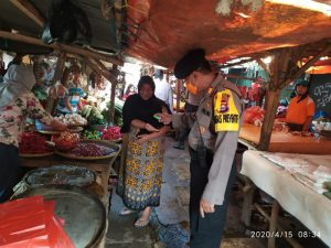 Keluar Masuk Pasar, Masyarakat Kota Serang Wajib Terapkan Protokol Kesehatan