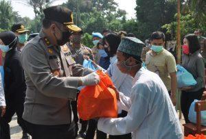 Baitul Qur'an Tasikardi Kramatwatu Dapat Bantuan 150 Paket Sembako