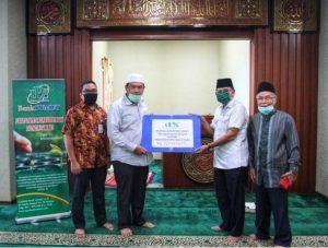 UPZ Bank Sumut Salurkan Dana Zakat kepada Baznas