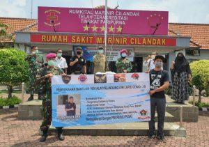 PWI Bersama Lima Komunitas Salurkan 1000 APD ke Rumah Sakit