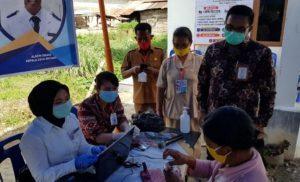 Bank Sumut Bantu Pencairan Dana BLTDD di 5 Desa Kabupaten Dairi