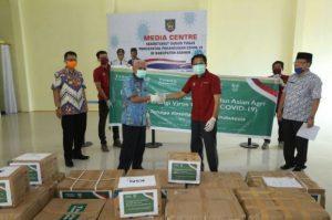 Tonoto Foundation dan Asian Agri Beri Bantuan APD untuk Kabupaten Asahan