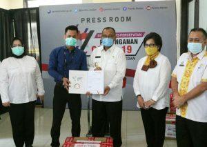 Hikvision Perkenalkan Kamera Termal saat Penyerahan Bantuan APD ke Pemkot Medan