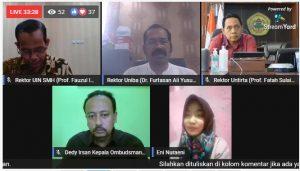 Ombudsman Banten: Perguruan Tinggi di Tengah Pandemi Covid–19