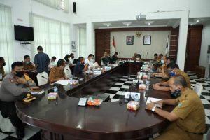 Rapat Persiapan Pelaksanaan Pilkada Serentak Tahun 2020 di Kabupaten Asahan