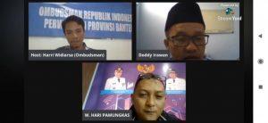Ombudsman Banten: Strategi Komunikasi dan Informasi dalam Mendorong Pelayanan Publik Prima