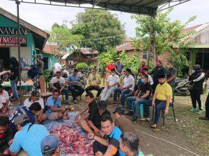 Rebon Medan Deli dan HIPMI Sumut Bagikan 1.100 Paket Daging Kurban