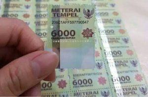 Materai Rp6.000 dan Rp3.000 Bakal Ditiadakan, Diganti Rp10.000